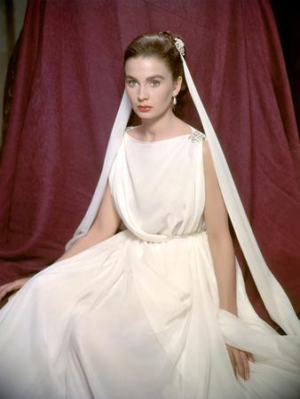 La tunique THE ROBE by HenryKoster with Jean Simmons, 1953 (photo)