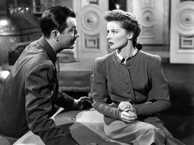 Lame by fond UNDERCURRENT by VincenteMinnelli with Robert Taylor and Katharine Hepburn, 1946 (b/w p