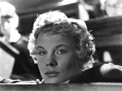 Les Fraises Sauvages WILD STRAWBERRIES by IngmarBergman with Bibi Anderson, 1957 (b/w photo)