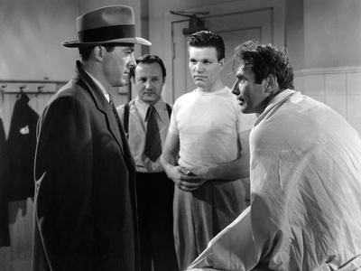 Mark Dixon Detective WHERE THE SIDEWALK ENDS by OttoPreminger with Dana Andrews and Gary Merrill, 1