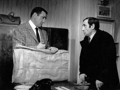 Lino ventura and Charles Aznavour dans le film La metamorphose des cloportes by PierreGranierDeferr