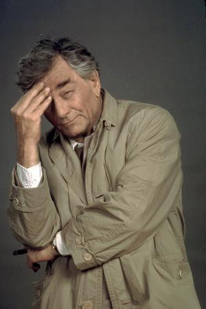 telefilm COLUMBO: STRANGE BEDFELLOWS, Peter Falk (inspecteur Columbo), 1995 COLUMBO TV, 1971-2003 (