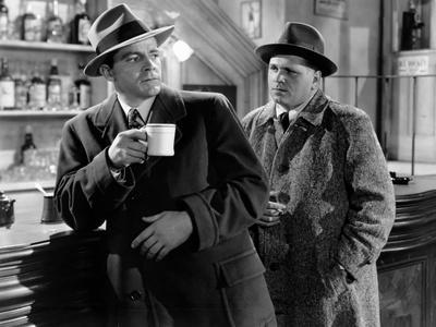 Mark Dixon Detective WHERE THE SIDEWALK ENDS by OttoPreminger with Dana Andrews, 1950 (b/w photo)