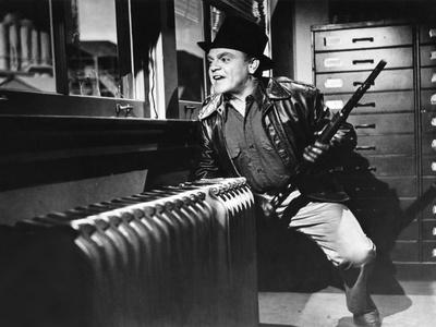 L'enfer est a lui WHITE HEAT by RaoulWalsh with James Cagney, 1949 (b/w photo)