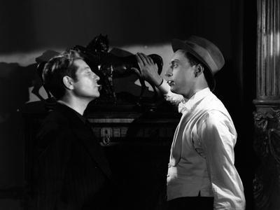 Les Bas Fonds by JeanRenoir with Jean Gab Louis Jouvet, 1936 (b/w photo)