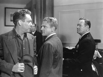 L'enfer est a lui WHITE HEAT by RaoulWalsh with Edmond O'Brien and James Cagney, 1949 (b/w photo)