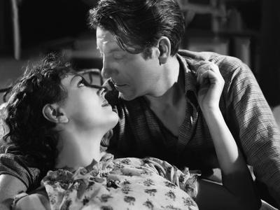 Les Bas Fonds by JeanRenoir with Junie Astor and Jean Gab 1936 (b/w photo)