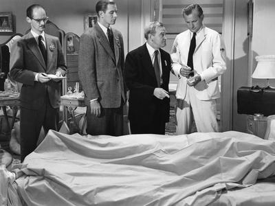 La cite sans voiles THE NAKED CITY by Jules Dassin with David Opatoshu, Don Taylor, Barry Fitzgeral