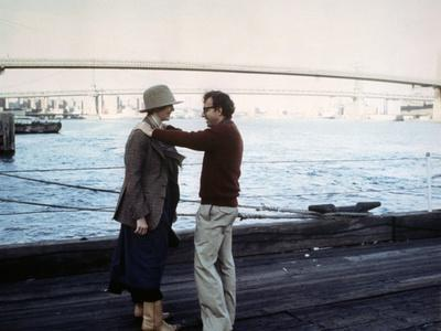 Diane Keaton and Woody Allen ANNIE HALL, 1977 directed by Woody Allen (photo)