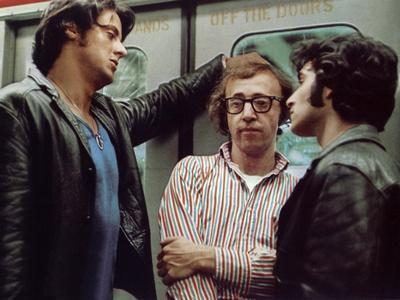 Sylvester Stallone and Woody Allen BANANAS, 1971 directed by Woody Allen (photo)