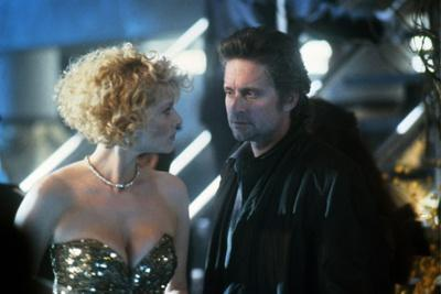 Black Rain by Ridley Scott with Kate Capshaw and Michael Douglas, 1989 (photo)