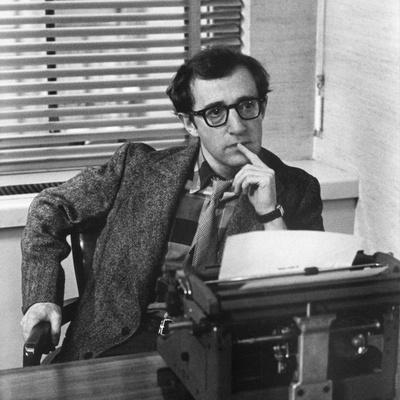 Woody Allen THE FRONT, 1976 directed by MARTIN RITT (b/w photo)