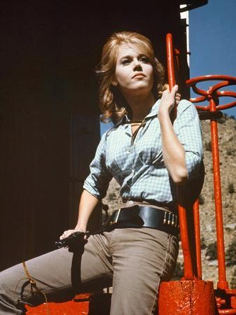Jane Fonda CAT BALLOU, 1965 directed by ELLIOT SILVERSTEIN (photo)