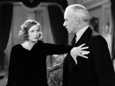 A WOMAN OF AFFAIRS, 1929 directed by CLARENCE BROWN with Greta Garbo / Lewis Stone (photo)