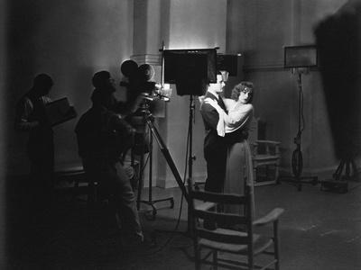 A WOMAN OF AFFAIRS, 1929 directed by CLARENCE BROWN with Greta Garbo and John Gilbert during the fi