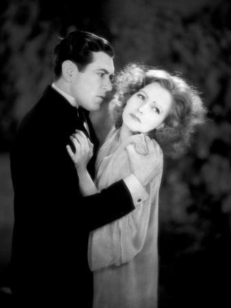 A WOMAN OF AFFAIRS, 1929 directed by CLARENCE BROWN with Greta Garbo / John Mack Brown (photo)