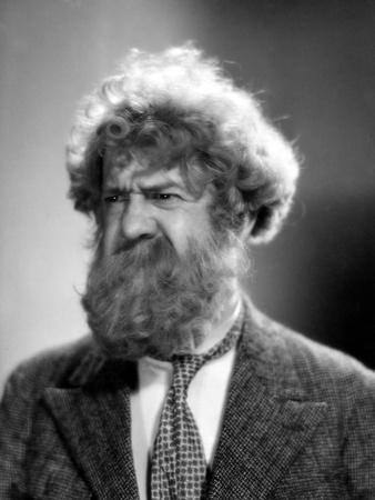 Michel Simon BOUDU SAUVE DES EAUX, 1932 DIRECTED BE JEAN RENOIR (b/w photo)