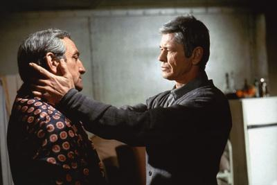 Lino Ventura and Charles Bronson THE VALACHI PAPERS OR COSA NOSTRA, 1972 directed by TERENCE YOUNG