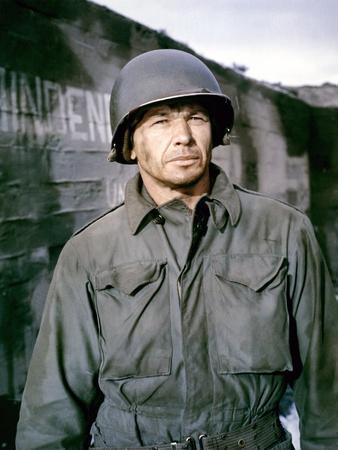 BATTLE OF THE BULGE, 1965 directed by KEN ANNAKIN Charles Bronson (photo)