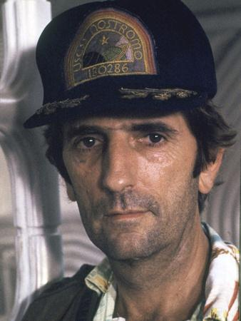 Alien, 1979 directed by Ridley Scott with Harry Dean Stanton (photo)
