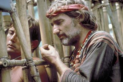APOCALYPSE NOW, 1979 directed by FRANCIS FORD COPPOLA Martin Sheen and Dennis Hopper (photo)