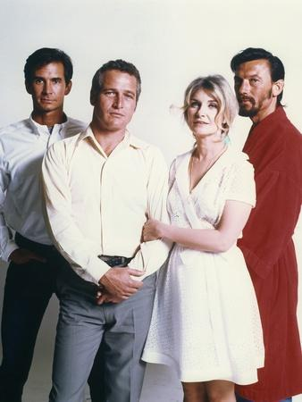 Anthony Perkins, Paul Newman, Joanne Woodward and Laurence Harvey. WUSA, 1970 directed by STUART RO