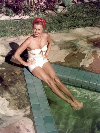 L'actrice Esther Williams, c. 1952 --- Esther Williams, c. 1952 (photo)