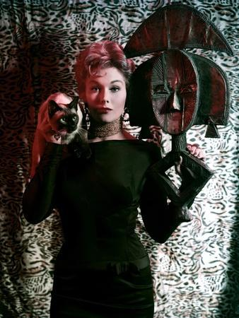 BELL, BOOK AND CANDLE, 1958 directed by RICHARD QUINE Kim Novak (photo)