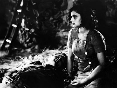 Paisan by Roberto Rossellini with Carmela Sazio, 1946 (b/w photo)