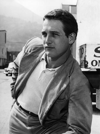 PAUL NEWMAN early 60'S (b/w photo)