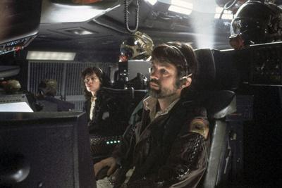 Alien, 1979 directed by Ridley Scott with Sigourney Weaver and Tom Skerritt (photo)