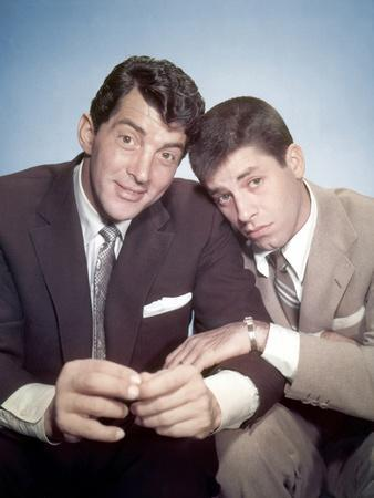 DEAN MARTIN AND JERRY LEWIS in the 50's (photo)
