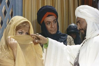 ANGELIQUE and LE SULTAN, 1968 directed by BERNARD BORDERIE Michele Mercier, Jean-Claude Pascal and