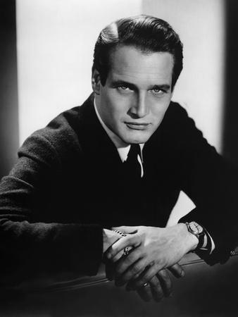 PAUL NEWMAN in the 50's (b/w photo)