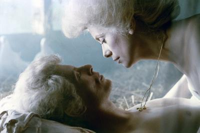 Les Predateurs The Hunger by Tony Scott with David Bowie, Catherine Deneuve, 1983 (photo)
