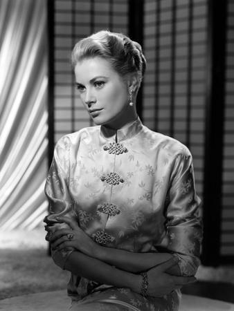 Grace Kelly (b/w photo)