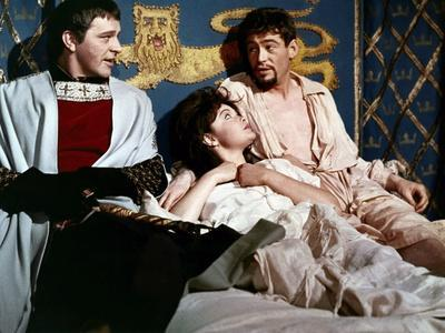 BECKET, 1964 directed by PETER GLENVILLE Richard Burton and Peter O'Toole (photo)