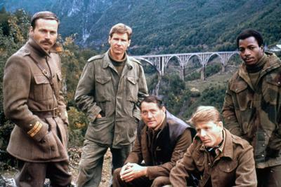 10 FROM NAVARONE, 1978 directed by GUY HAMILTON with Franco Nero, Harrison Ford, Robert Shaw, Edwar