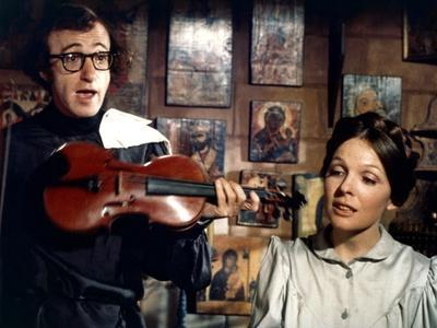 Woody Allen and Diane Keaton LOVE AND DEATH, 1975 directed by Woody Allen (photo)