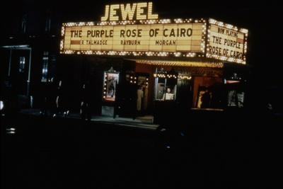 PURPLE ROSE OF CAIRO, 1985 directed by WOOD Y ALLEN (photo)