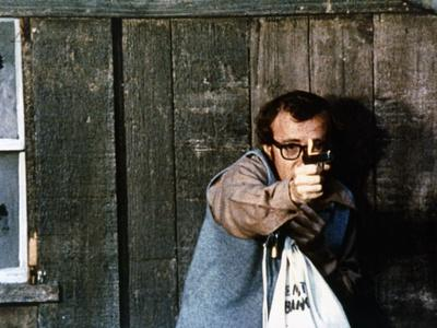 Woody Allen TAKE THE MONEY AND RUN, 1969 directed by Woody Allen (photo)