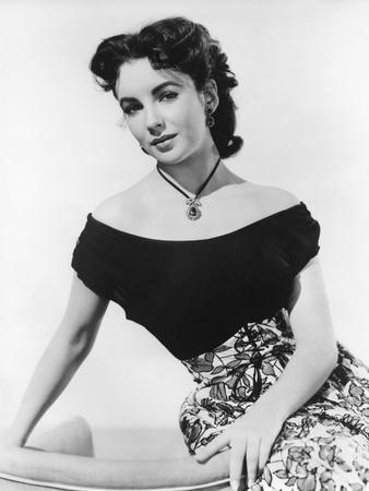 A DATE WITH JUDY, 1948 directed by RICHARD THORPE with Elizabeth Taylor (b/w photo)
