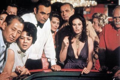 Les Diamants sont Eternels DIAMONDS ARE FOREVER by GuyHamilton with Sean Connery, Lana Wood, 1971 (