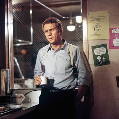 BULLITT, 1968 directed by PETER YATES Steve McQueen (photo)