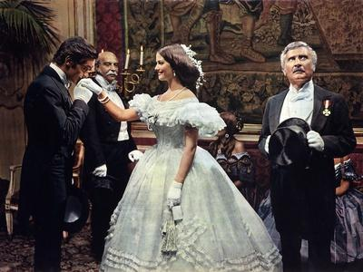 Le Guepard The Leopard by Luchino Visconti with Alain Delon, Claudia Cardinale and Burt Lancaster,