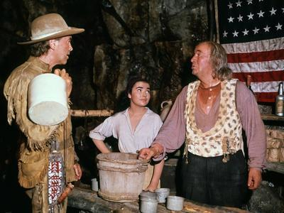 HOW THE WEST WAS WON, 1962 directed by HENRY HATHAWAY (The River) James Stewart, Brigid Bazlen and