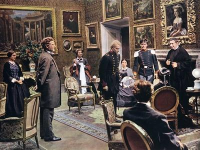 LE GUEPARD, 1963 by LUCHINO VISCONTI with Burt Lancaster (photo)