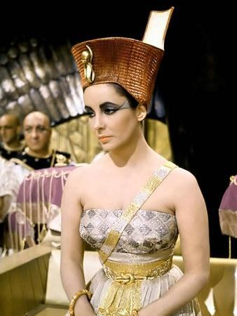 Cleopatre Cleopatra by Joseph L. Mankiewicz with Elizabeth Taylor, 1963 (photo)