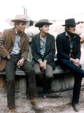 BUTCH CASSIDY AND THE SUNDANCE KID, 1969 directed by GEORGE ROY H Paul Newman, Katharine Ross and R