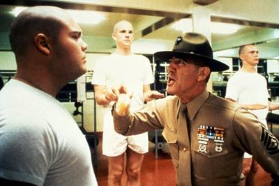 FULL METAL JACKET, 1987 directed by STANLEY KUBRICK Vincent d'Onofrio, Matthew Modine and R.Lee Erm